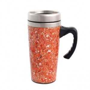 Travel Mug Made From Maine Lobster Shell