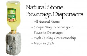 Stone Drink Dispenser